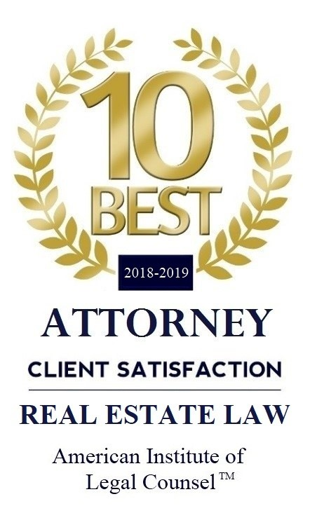 2018-2019 10 BEST Real Estate Law
